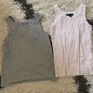 Gap girls tanks size Medium 8